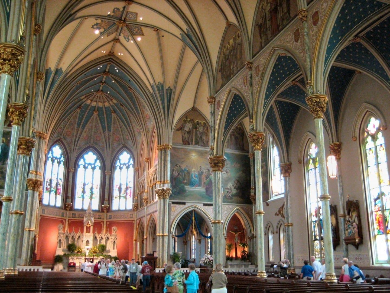 Catedral de San Juan Bautista Savannah GA Estados Unidos