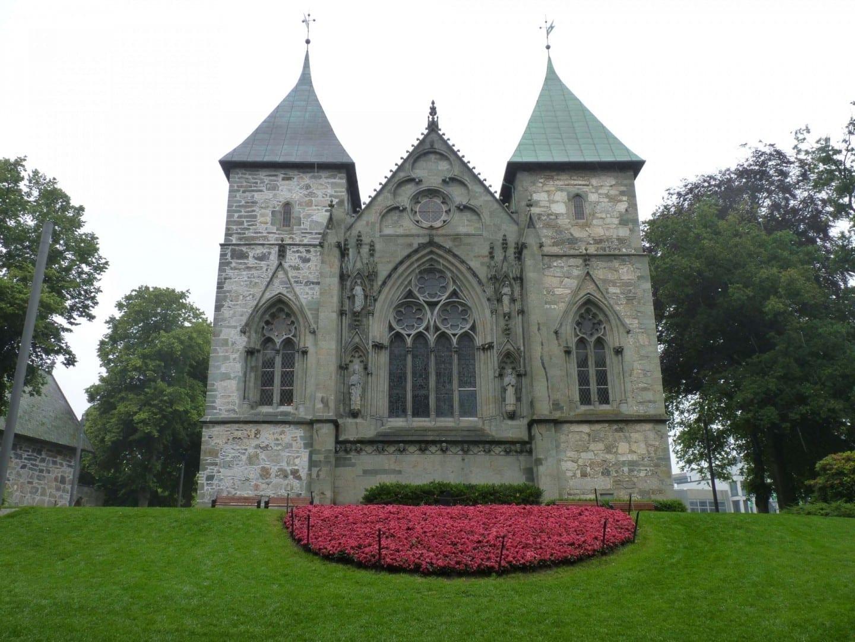 Catedral de Stavanger, extremo este Stavanger Noruega