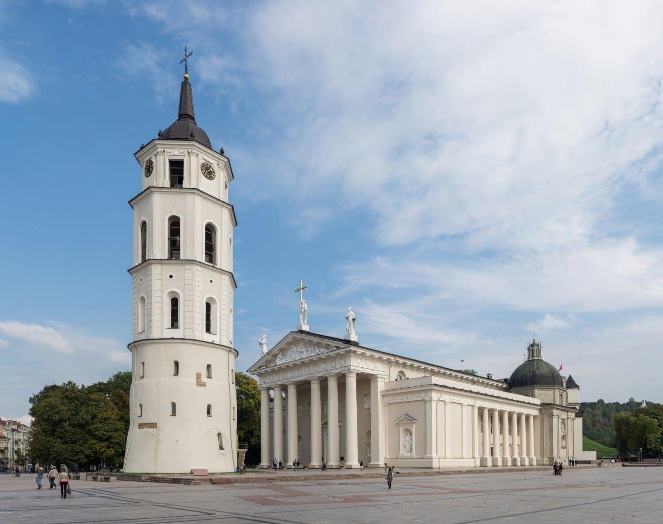 Catedral de Vilnius Vilnius Lituania