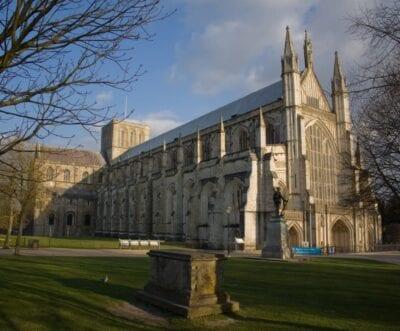 Catedral de Winchester Winchester Reino Unido