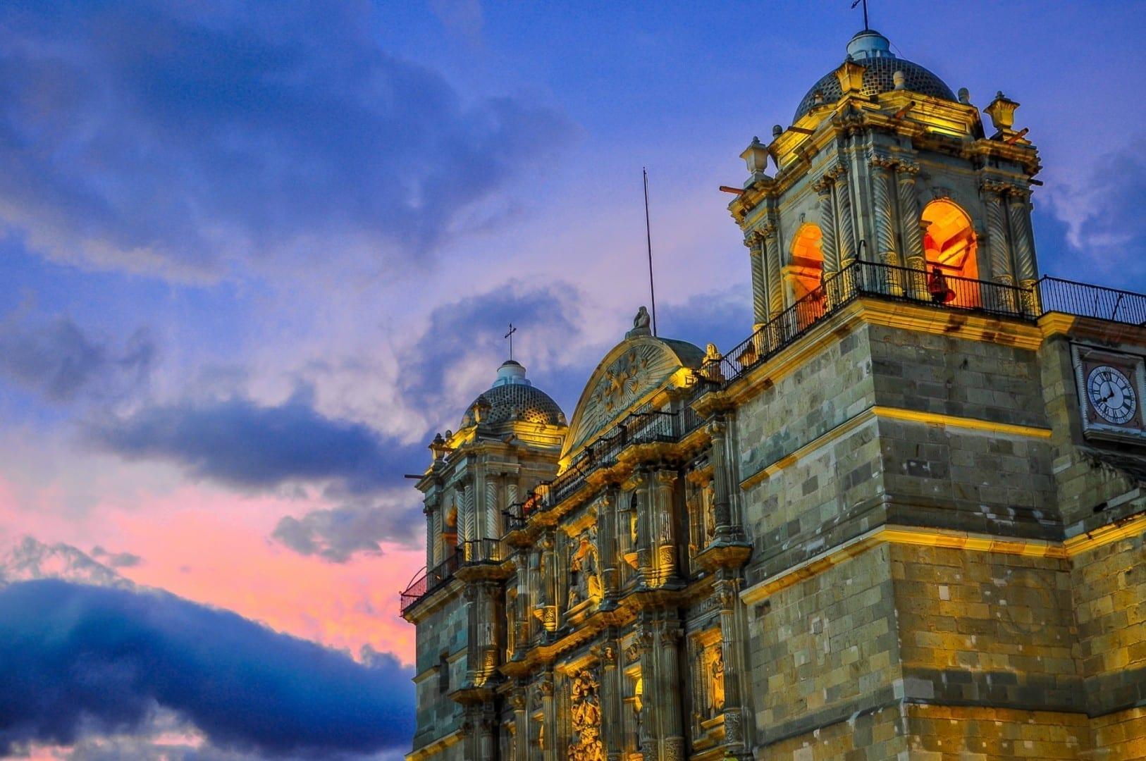 Catedral Metropolitana Oaxaca México