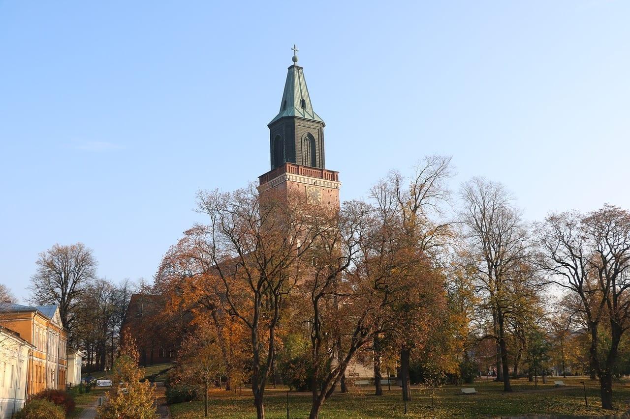 Catedral Turku Finlandés Finlandia