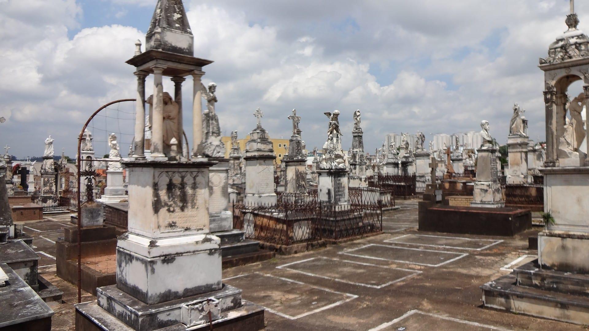 Cementerio Saudade. Campinas Brasil