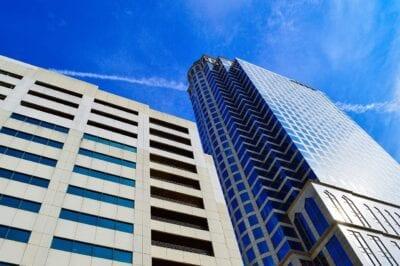 Centro De La Ciudad La Construcción De Tampa Estados Unidos