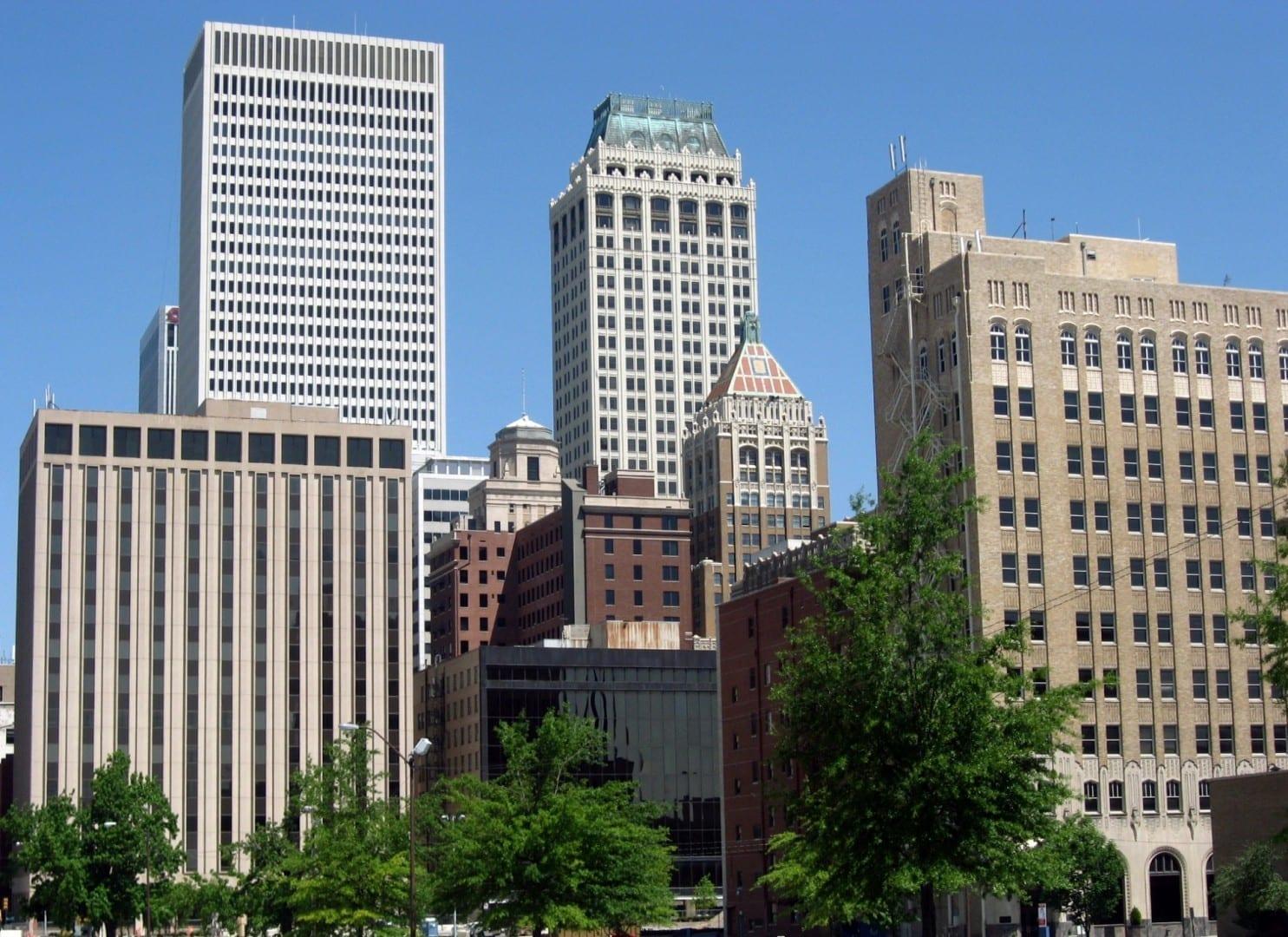Centro de Tulsa Tulsa OK Estados Unidos
