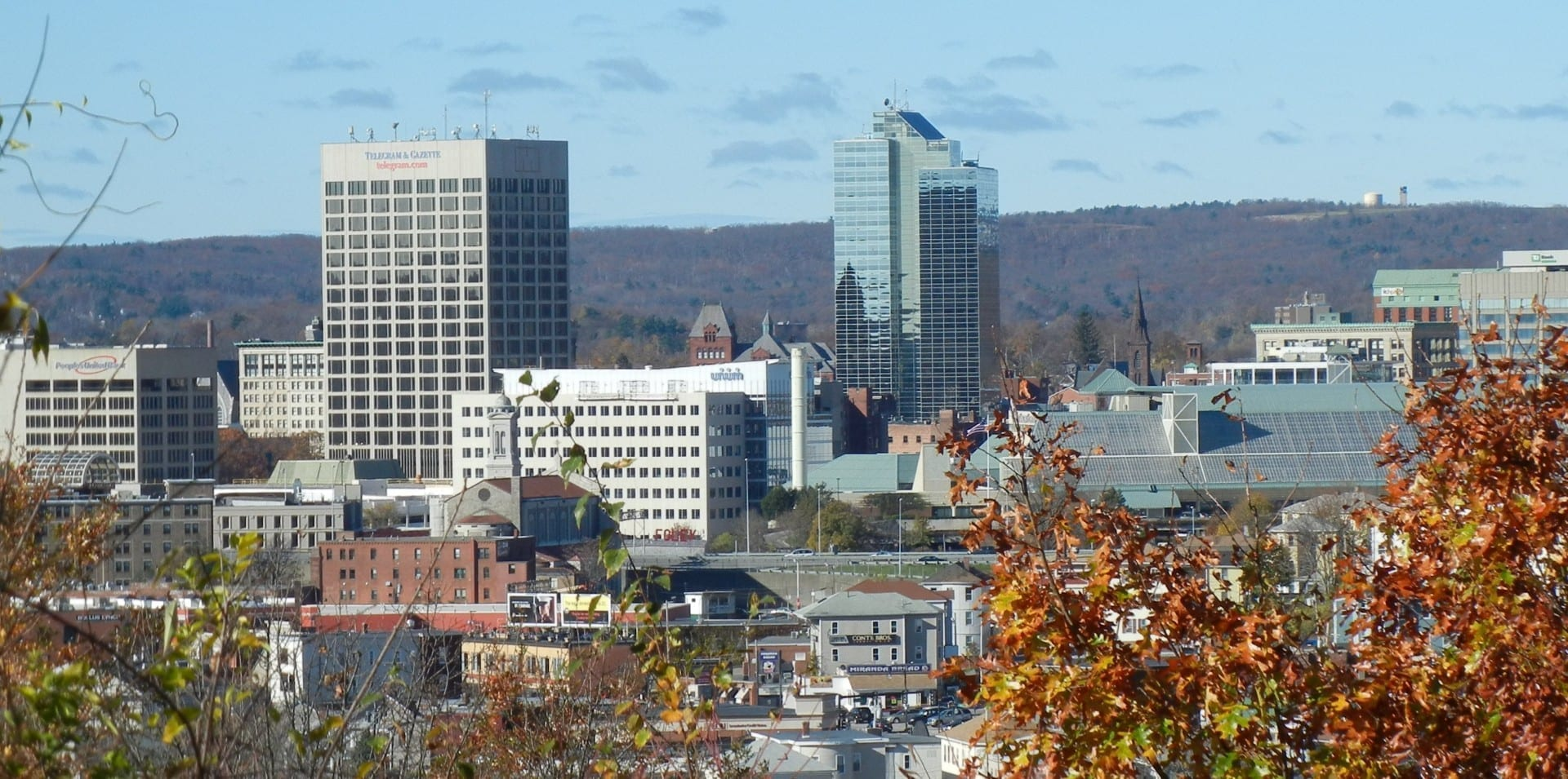 Centro de Worcester, Massachusetts Worcester MA Estados Unidos