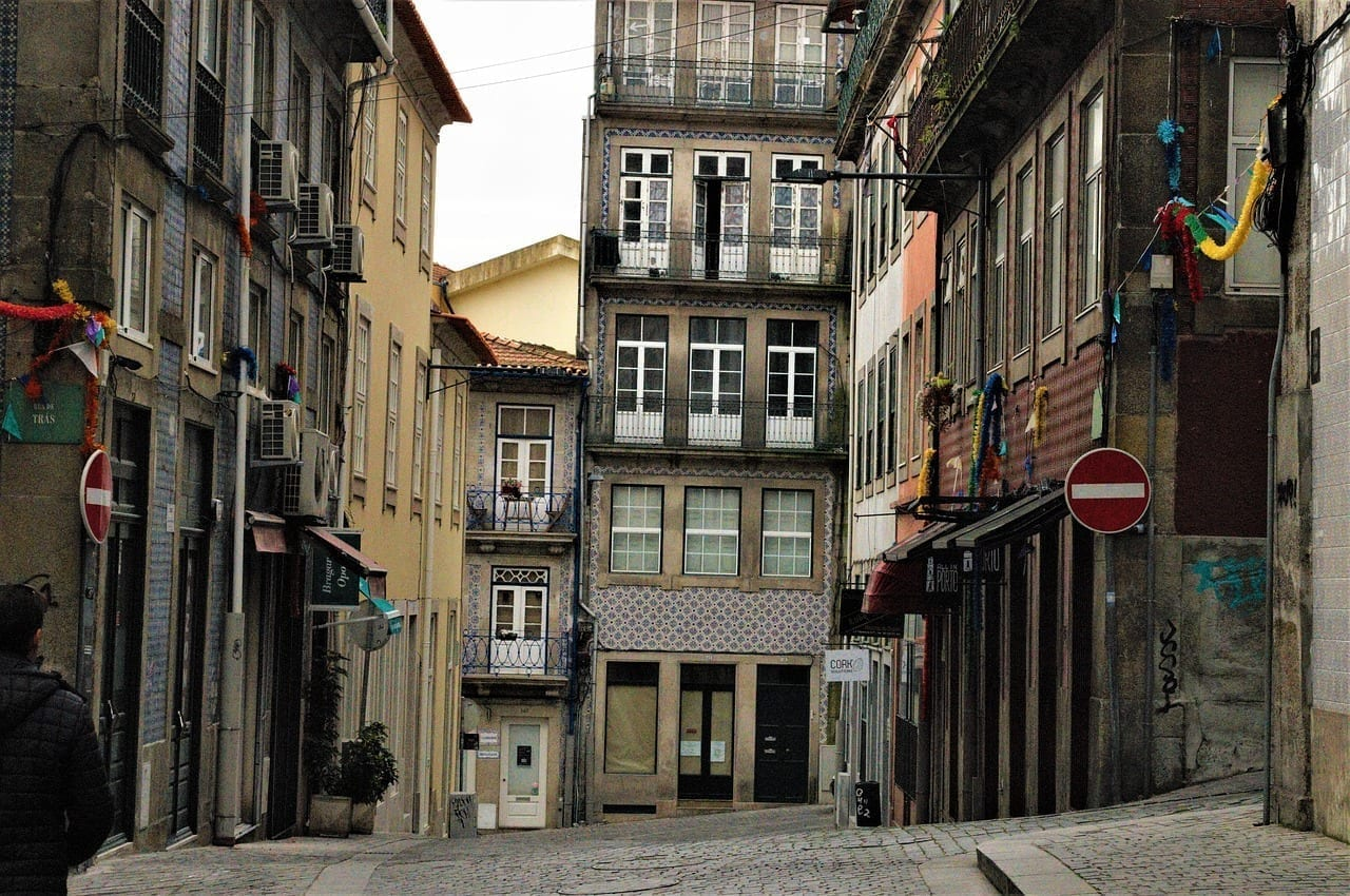 Centro Histórico De Oporto Portugal Porto Portugal