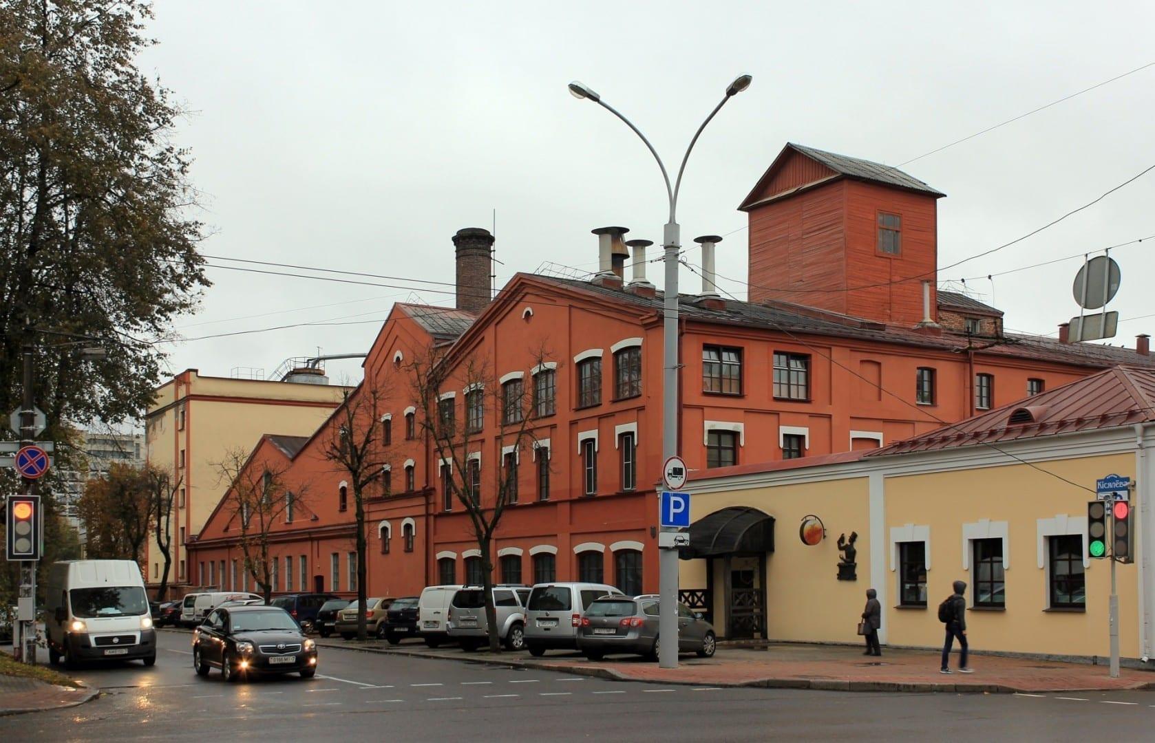 Cervecería Alivaria Minsk Bielorrusia