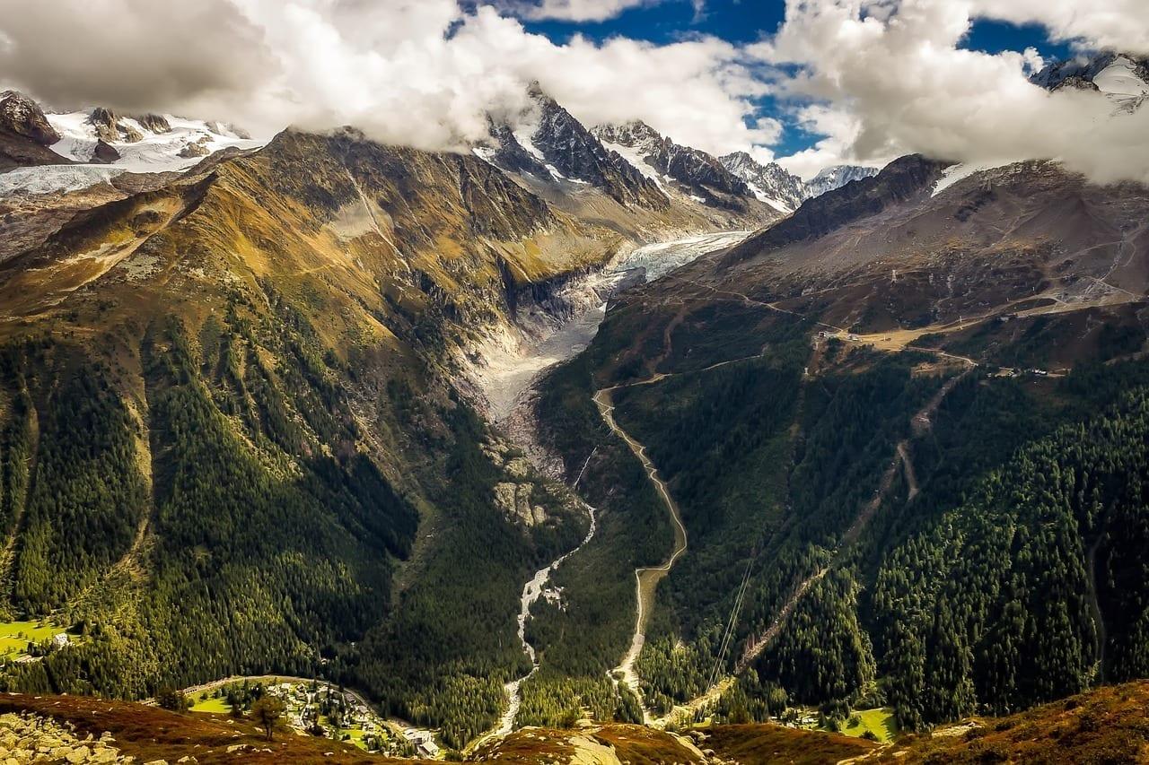 Chamonix Francia Montañas Francia