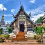 Chiang Mai Tailandia Templo Tailandia