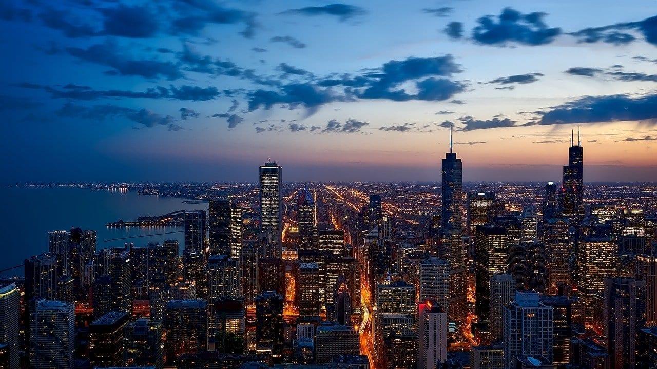 Chicago Illinois Ciudad Estados Unidos
