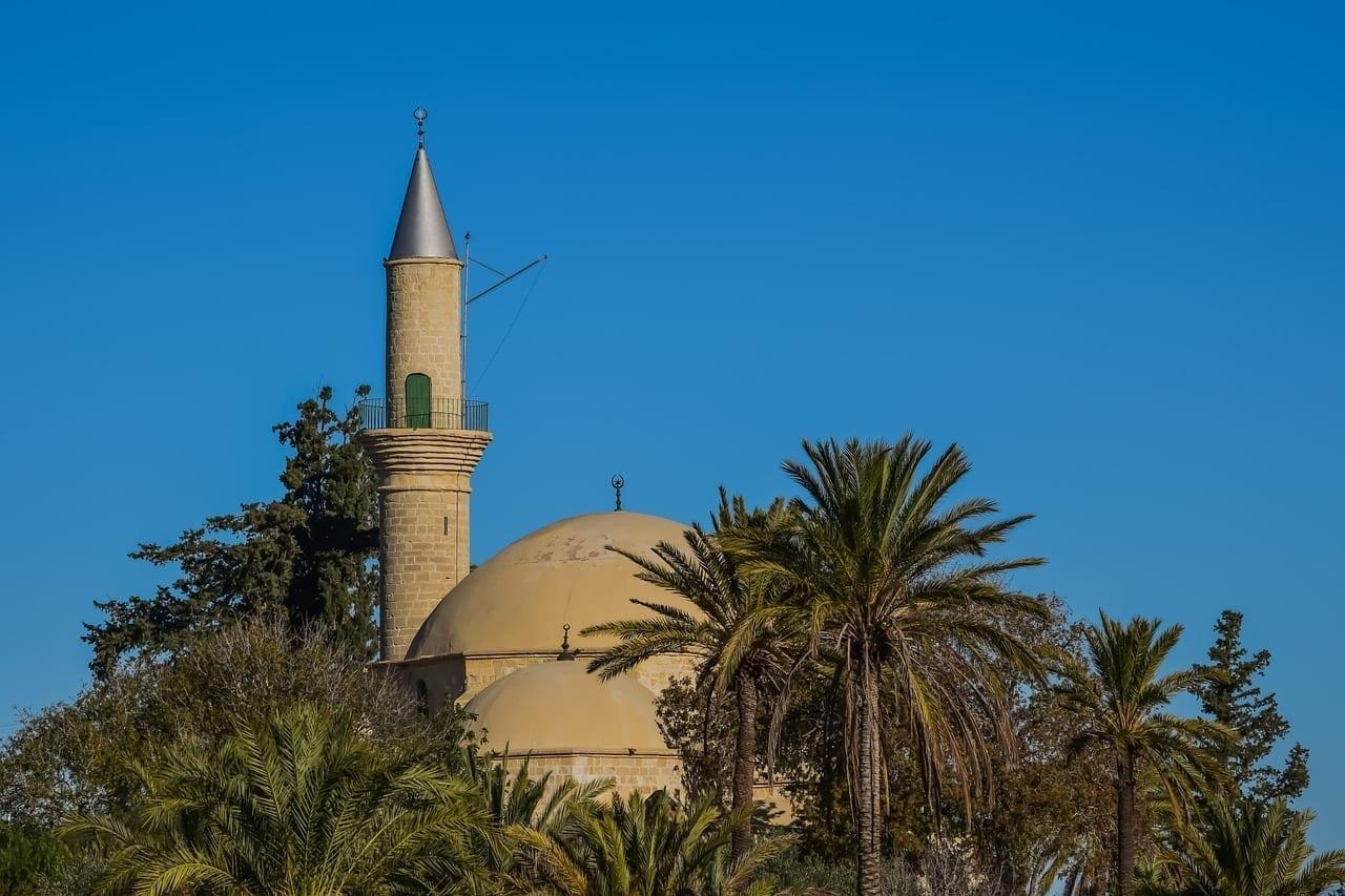 Chipre Larnaca Hala Sultan Tekke Chipre