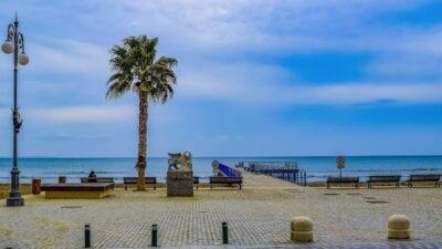 Chipre Larnaca Paseo Chipre