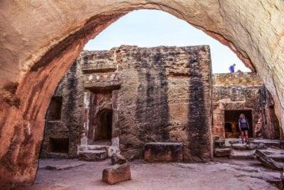 Chipre Paphos Tumbas De Los Reyes Chipre