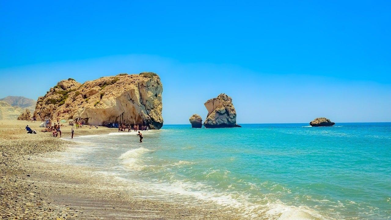 Chipre Petra Tou Romiou Afrodita Rock Jordania