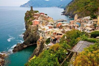 Cinque Terre Italia Mediterráneo Italia