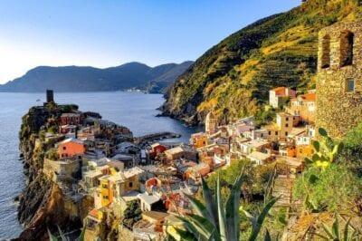 Cinque Terre Vernazza Aldea Italia
