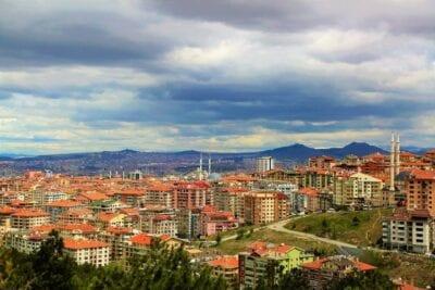 Ciudad Ankara Arquitectura Turquía