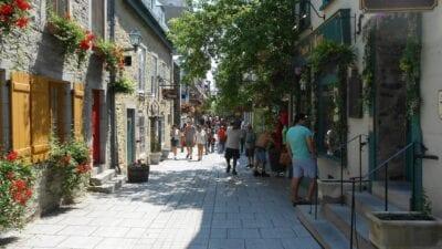 Ciudad De Quebec Quebec Ciudad Canadá