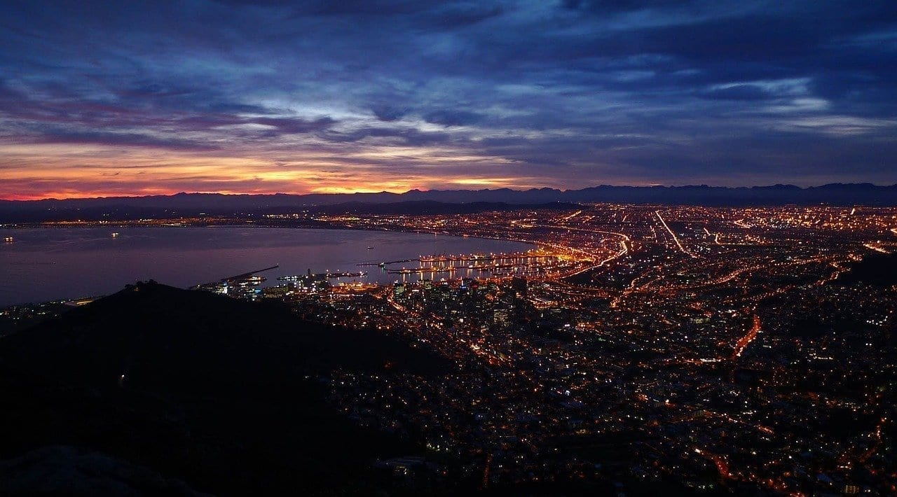 Ciudad Del Cabo Cabeza De León Sudáfrica República de Sudáfrica