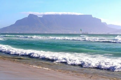 Ciudad Del Cabo Monte Mesa Mar República de Sudáfrica