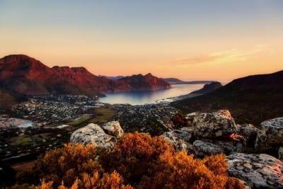 Ciudad Del Cabo Sudáfrica Montañas República de Sudáfrica