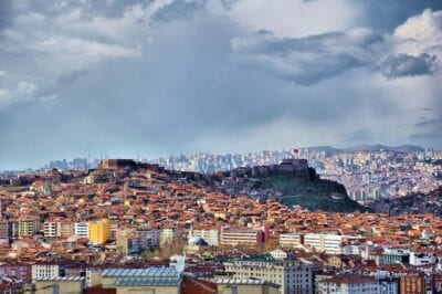 Ciudad Paisaje Urbano Ankara Turquía