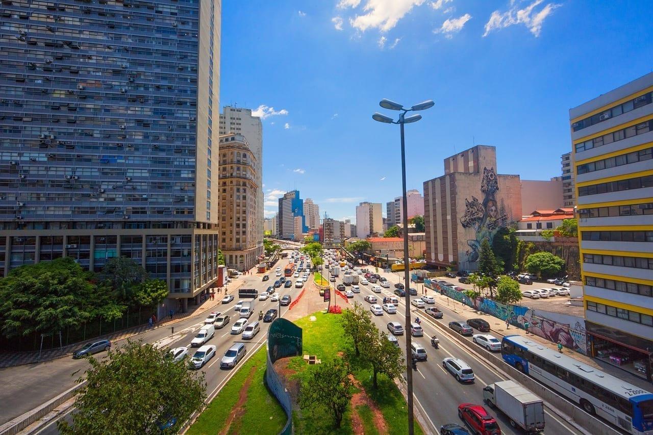 Ciudad São Paulo Té Viaducto Brasil