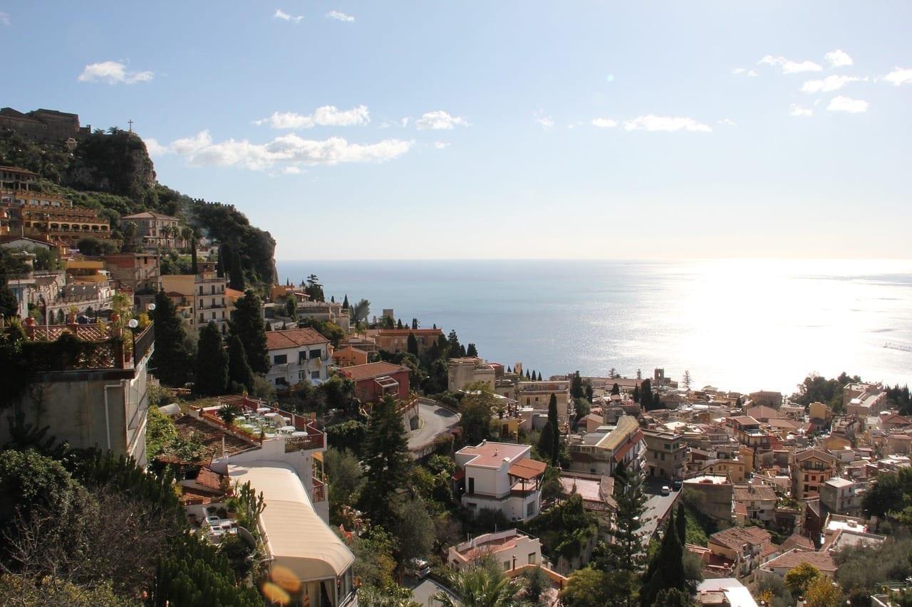 Ciudad Taormina Sicilia Italia