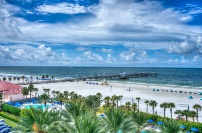 Clearwater Beach Florida Costa Del Golfo Estados Unidos