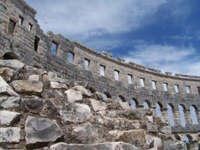 Coliseo Pula Croacia Croacia