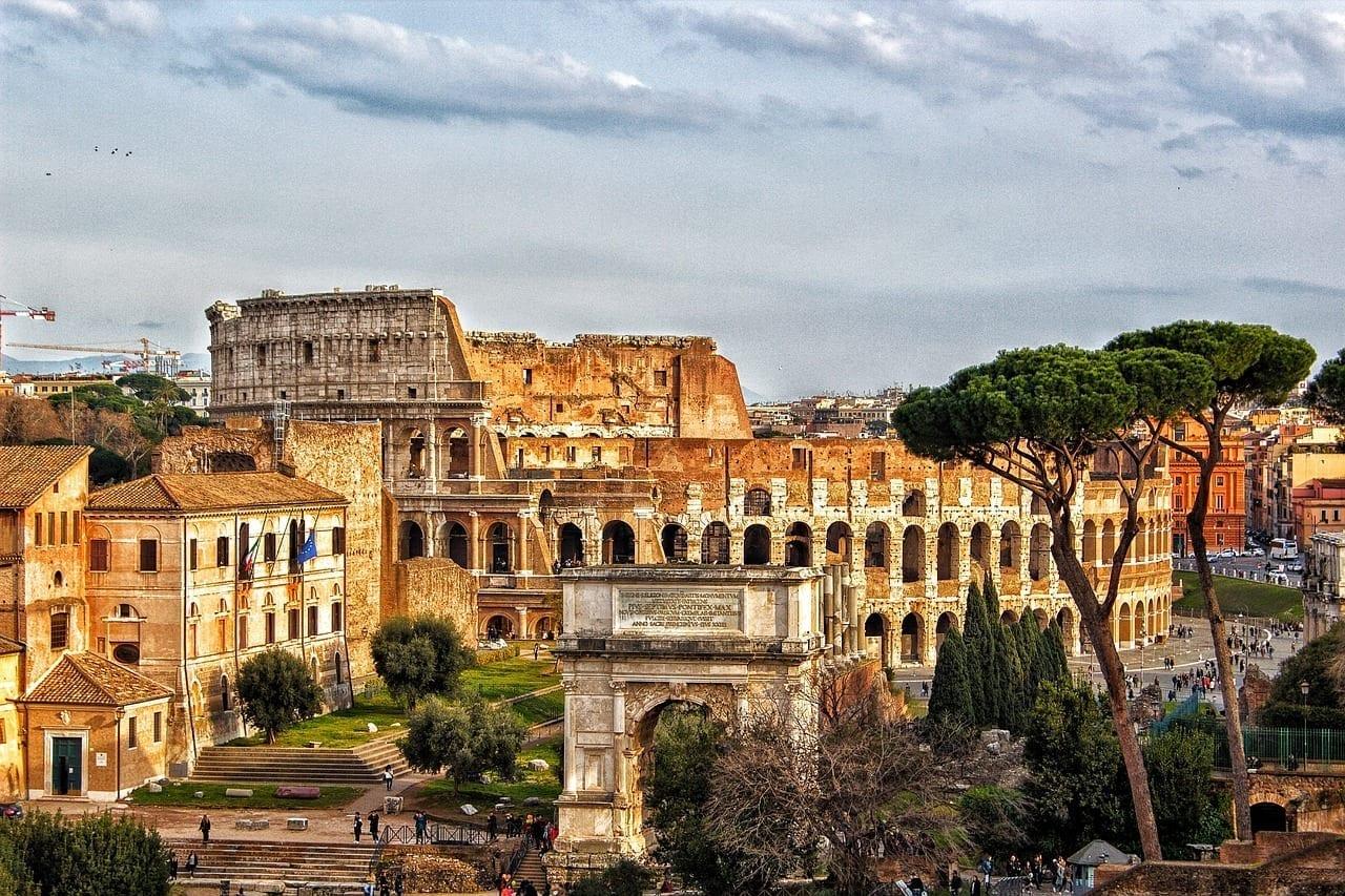 Coliseo Roma Ciudad Italia