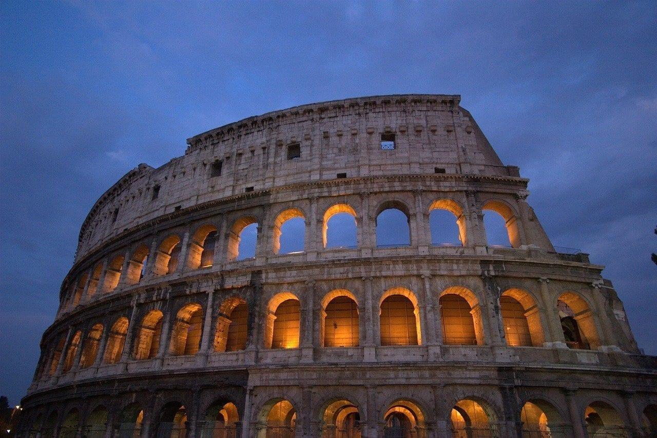 Coliseo Roma Italia Italia