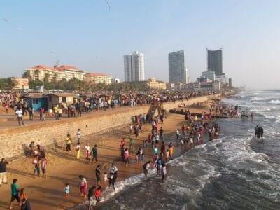 Colombo Sri Lanka Playa Sri Lanka