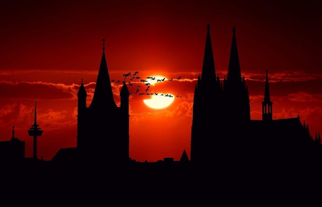 Colonia De La Ciudad Vista De La Ciudad Alemania