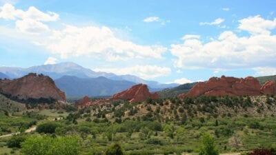 Colorado Springs Colorado Pikes Peak Estados Unidos