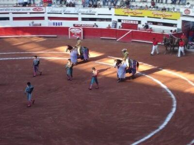 Comenzando la corrida de toros, Plaza Monumental, Monterrey Monterrey México