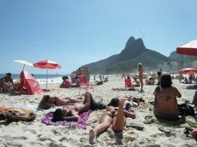 Copacabana Río De Janeiro Playa Brasil