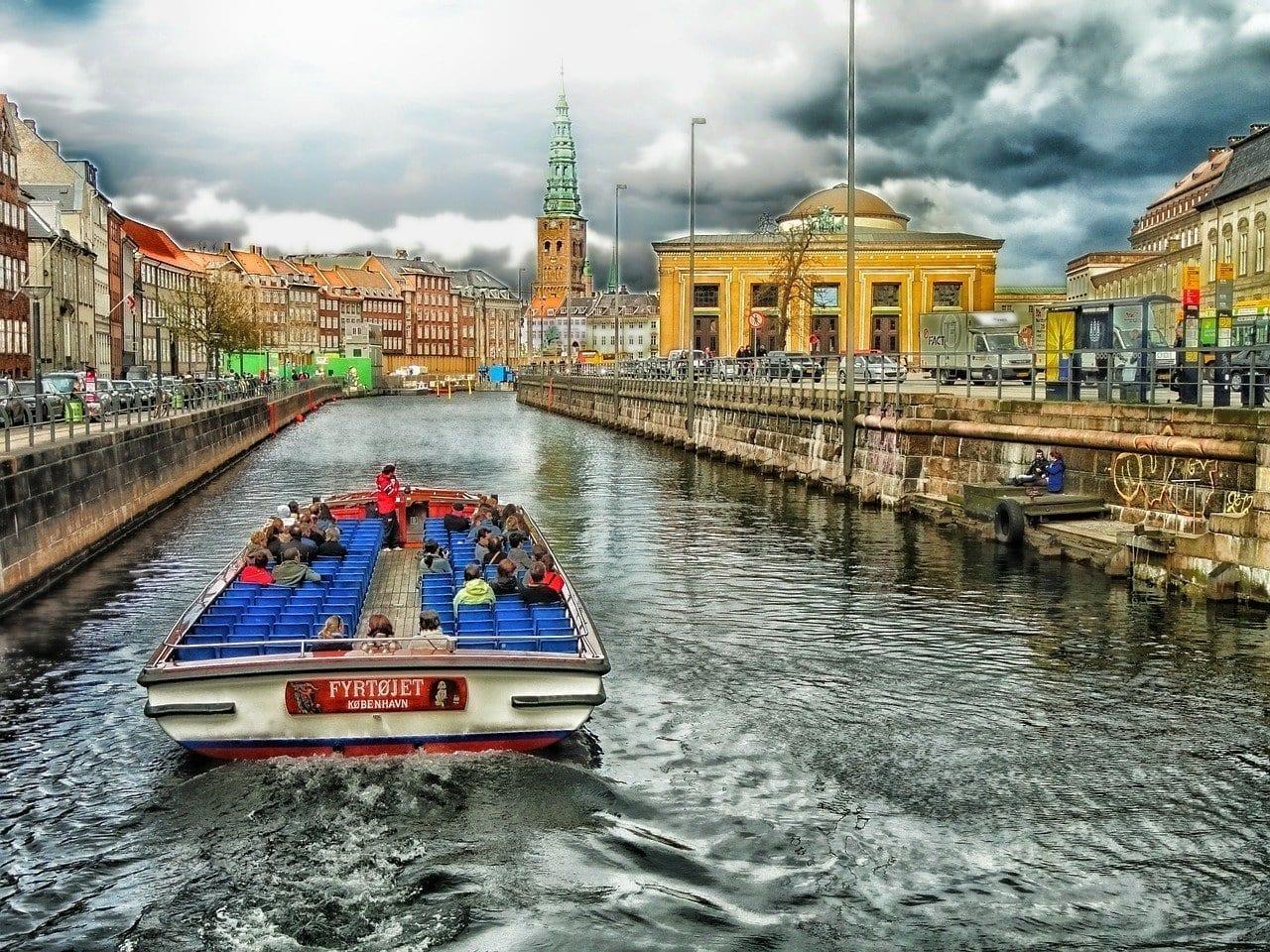 Copenhague Dinamarca Canal Dinamarca
