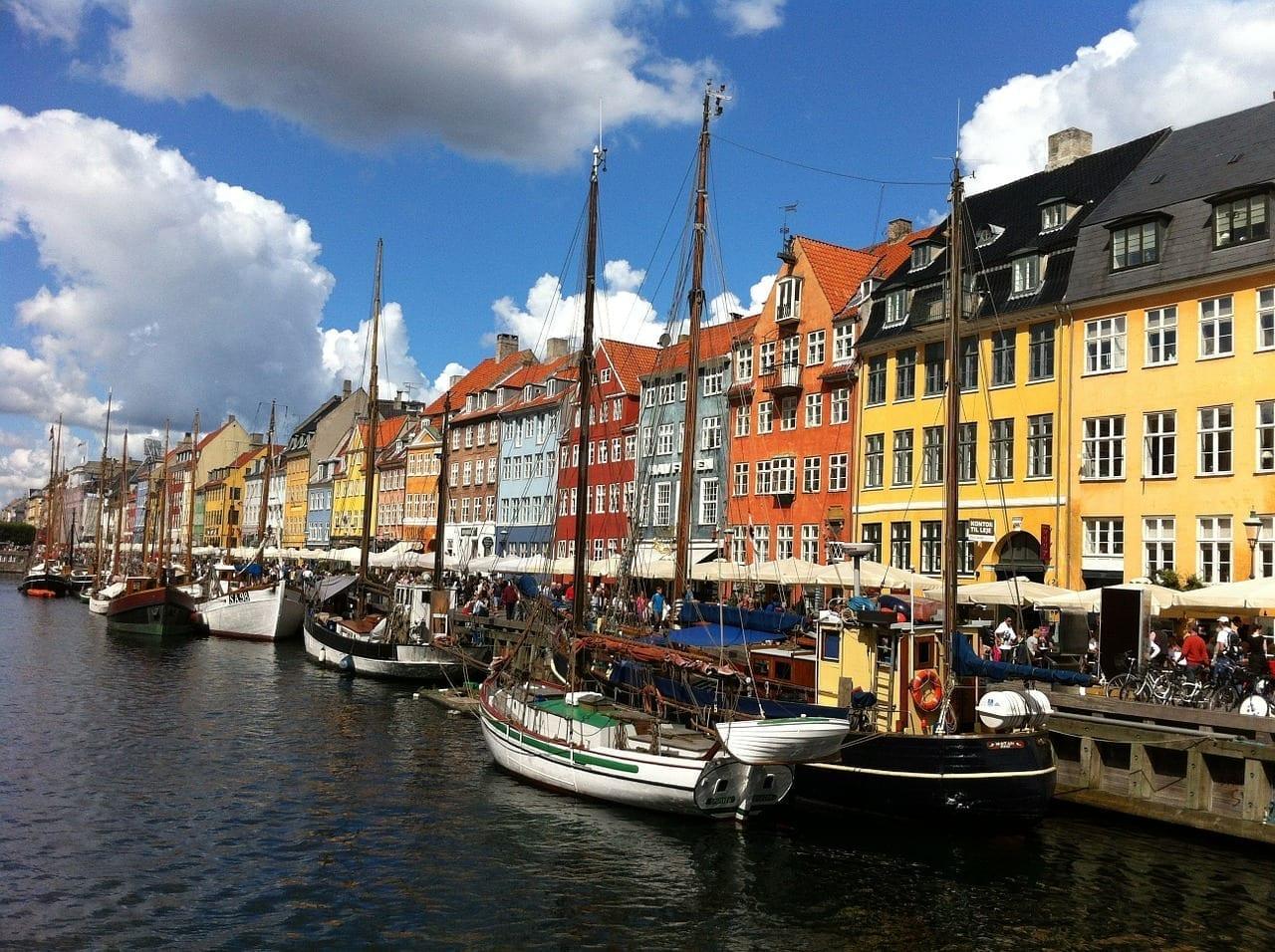 Copenhague Dinamarca Ciudad Dinamarca