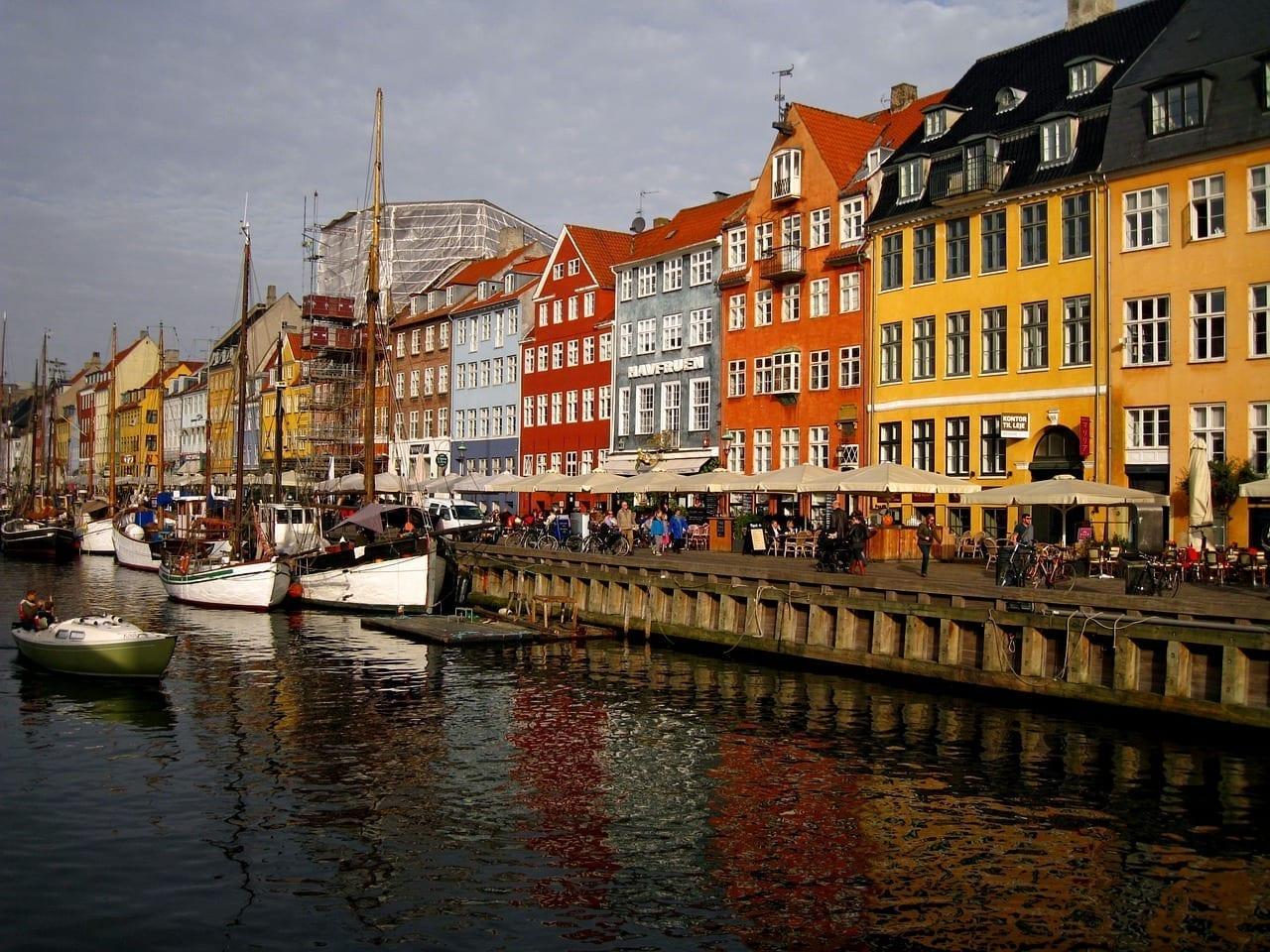 Copenhague Dinamarca Hito Dinamarca