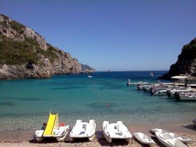 Corfu Mar Playa Grecia