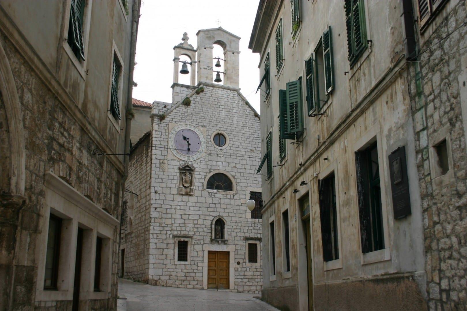Crkva sv. Barbare Sibenik Croacia