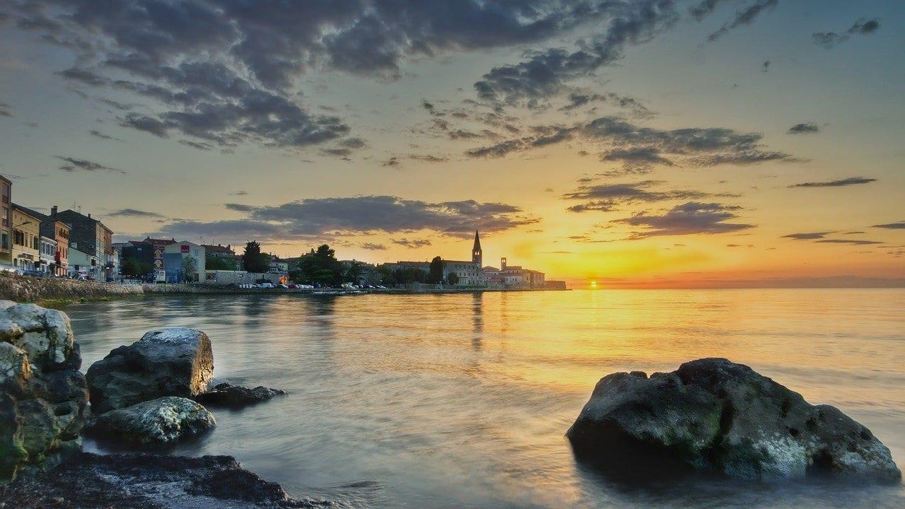 Croacia Porec Mar Croacia