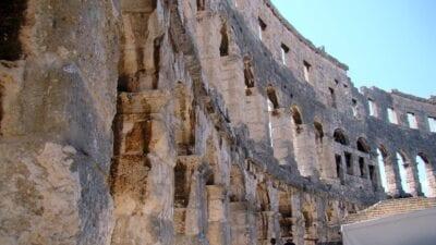 Croacia Pula El Anfiteatro Croacia