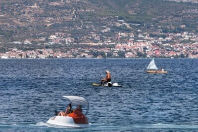 Croacia Trogir La Isla De Ciovo Croacia