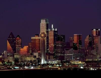 Dallas De Texas Horizonte Estados Unidos