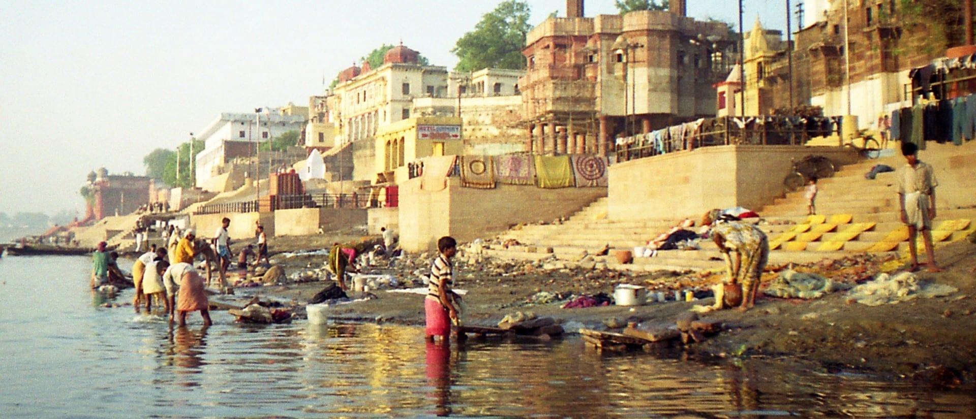 Dasaswamedh Ghat (ghat principal) Varanasi / Benares India