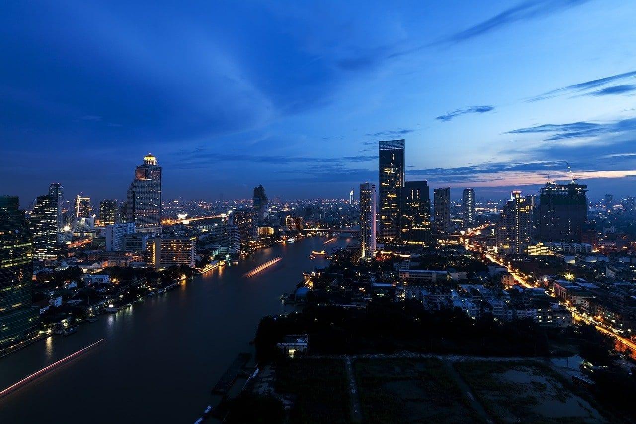 De La Ciudad Bangkok Tailandia Tailandia
