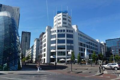 De Lichttoren, aunque no es espectacular, es en realidad uno de los hitos clave de Eindhoven Eindhoven Países Bajos